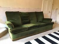 Vintage 70's four piece lounge suite