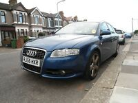 56 PLATE AUDI-A4-AVANT-S LINE-AUTO-DIESEL**FULL SERVICE HISTORY**NEW MOT-EXCELLENT THROUGHOUT £2450