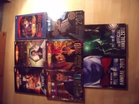 Doctor Who Annuals. 8 copies 2006-2013.