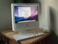 """Intel iMac 15"""" - 1.83GHz - 1.5Gb Ram 150Gb HDD - DVDRW - Wifi - Bluetooth"""