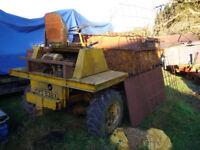 Benford 3 ton 4wd Dumper