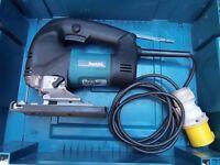 Cased Makita 4340 CT 110 volt Jigsaw. 720 watts.
