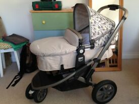 Mothercare Xpedior Tusk Limited Edition Pram & Pushchair - only used once