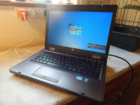 "Super fast HP ProBook 14"" aluminium Windows 10 laptop. 8GB DDR3 RAM. 500GB hard drive. USB 3. Webcam"