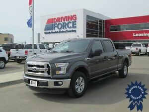 2015 Ford F-150 XLT Super Crew 4x4 - 48,498 KMs, Short Box