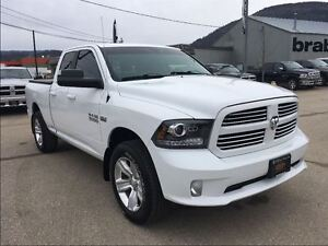 2013 Ram 1500 Sport Quad cab w/level kit
