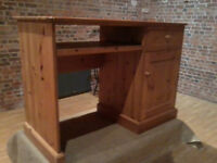 Solid Pine Desk - *Free Local Delivery