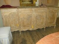 French Buffet.in bleached Oak