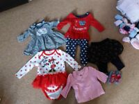 Big bundle baby girl clothes 0-6 months