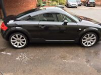 Audi I have owned the car for the past 12 years. A really well maintained car. Metallic Raven Black