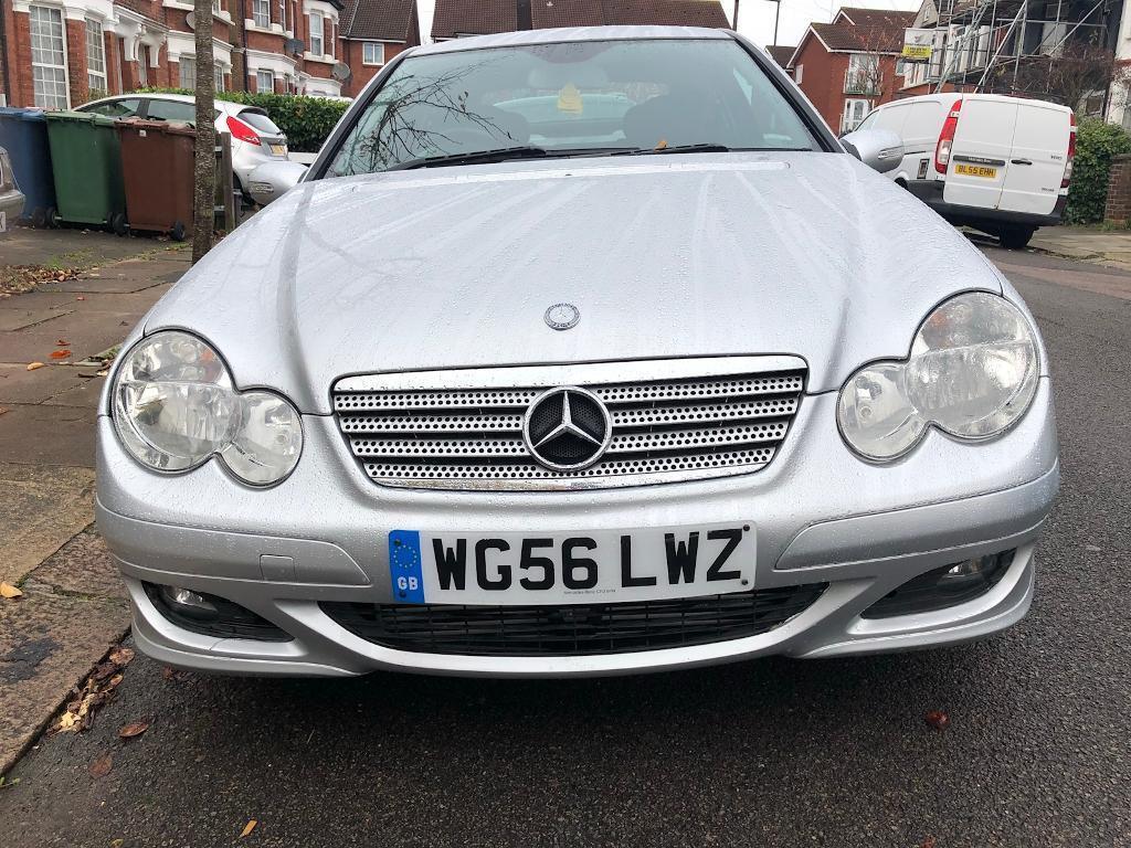Mercedes C220 CDi SE SPORTS COUPE. Automatic, 2.1 Diesel, 2006/56, 73k Miles, FSH.