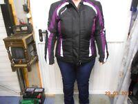 ladys motorbike jacket