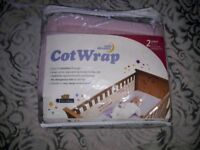 Safe dreams cot wrap/bumper