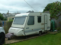 This is a 1991 model caravan which I have owned since 1993. It is in good condition for its age.