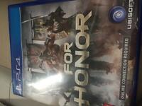 For honor ps4.