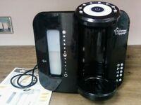 Tommee Tippee perfect prep machine black, baby bottles machine