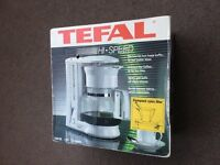 NEW Tefal electric coffee maker in sealed box