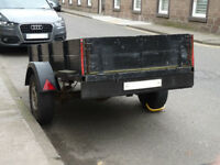 Trailer - 2.4m x 1.2m - With New Light Board and Spare Wheel