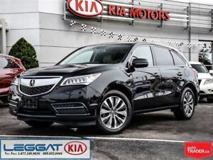 2014 Acura MDX Tech Pkg - No Accident, Fully Loaded + DVD Player