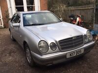 Mercedes Benz E230 with PERSONALISED NUMBER PLATE. 99p NO RESERVE!!!