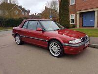 Rover 216 Cabriolet 1998 3dr Convertible 1.6 Petrol 12 Months MOT