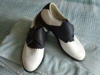Ladies Footjoy golf shoes worn once