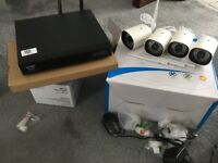Wareless 4 x cameras Cctv