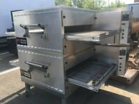 MIDDLEBY MARSHALL PS540G 32 GAS CONVEYOR PIZZA OVEN