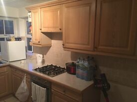 fitted kitchen with dishwasher,oven,gas hob, extractor fan. Very good condition.