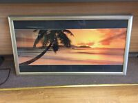 Sunset Framed Pictures