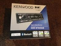 New Kenwood KMM-BT502DAB Car Radio
