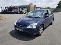 Honda Civic 1.4 5 doors in good condition car drives excellent 1 year MOT