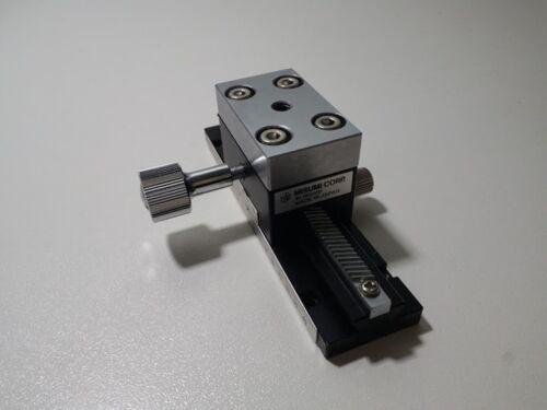MISUMI XLWG100 High Precision X-Axis Dovetail Slide, Rack & Pinion-Long