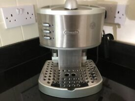 Coffee Maker with Milk Steamer