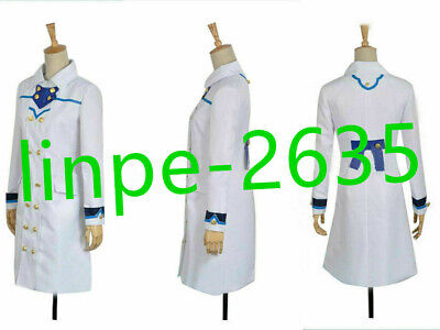 Costume With Red Hair (Snow White with the Red Hair Shirayuki Coat Uniform Cosplay Costume)