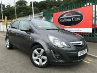 2012 (12 reg) Vauxhall Corsa 1.2 i 16v SXi 5dr Hatchback Petrol Low Miles