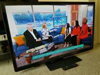 "PANASONIC VIERA 50"" 3D Slim FULL HD INTERNET LED TV. FREEVIEW HD. REMOTE CONTROL NEW CONDITION"