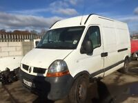 Renault master mwb high top 2006 year spare parts