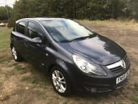 vauxhall corsa 2009 59 plate 1.4 sxi 115k service history mot alloy wheels privacy glass