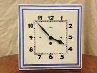 Ingersoll Ceramic Free Standing / Wall Clock
