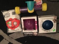 Hamster toys and bedding