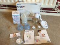 Advent breast pump unused