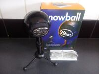 SNOWBALL MICROPHONE USB ( brand new)