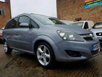 2008 Vauxhall Zafira 1.8 SRI - Low Mileage - 12 Months Mot - 7 Seater - 3 Months Warranty