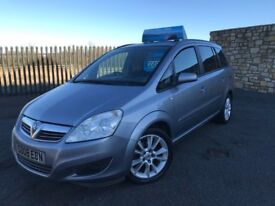 2008 08 VAUXHALL ZAFIRA EXCLUSIVE 1.6 16v *7 SEATER M.P.V* - LOW MILEAGE - ONLY 2 FORMER KEEPERS!