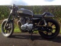 Yamaha XS 250 Cafe Racer Custom Motorcycle