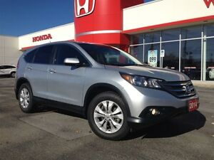 2014 Honda CR-V EX| PWR SUNROOF| ALLOYS| ONE OWNER|