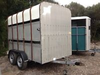 10x5 ifor williams cattle box