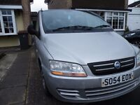 """Fiat Multipla """"Petrol"""" selling for my wife"""
