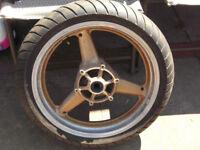 yamaha R1 4xv /5jj front wheel